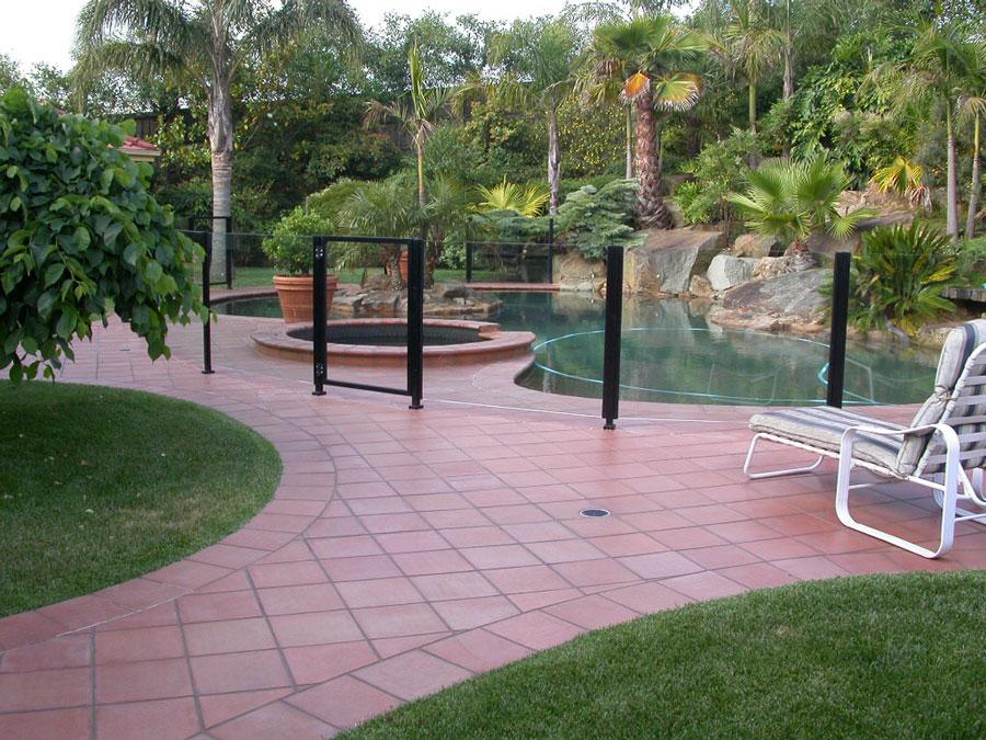 Pool Fence Balustrade Swimming Pool Balustrade Fencing Aluline Melbourne Australia
